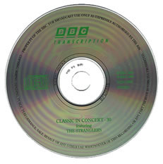 BBC In Concert Transcription Disc
